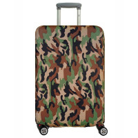 Чехол на чемодан милитари, размер L