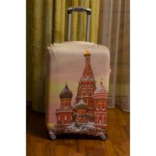 Чехол на чемодан кремль, размер L