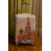Чехол на чемодан кремль, размер M 🛄