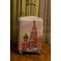 Чехол на чемодан кремль, размер M