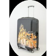 Чехол на чемодан колизей, размер M
