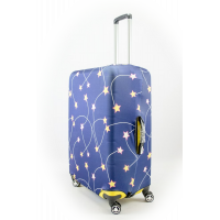 Чехол на чемодан звезды, размер M