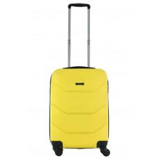 Чемодан Freedom (Комфорт), желтый 55 см, S
