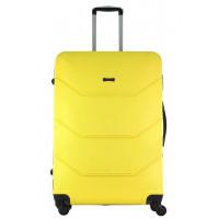 Чемодан Freedom (Комфорт), желтый 75 см, L