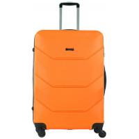 Чемодан Freedom (Комфорт), оранжевый 75 см, L