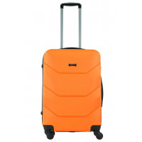 Чемодан Freedom (Комфорт), оранжевый 64 см, М