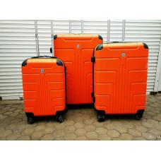 Чемодан Luyida (Комфорт), оранжевый 55 см, S