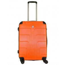 Чемодан Luyida (Комфорт), оранжевый 64 см, M