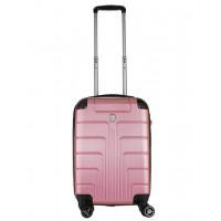 Чемодан Luyida (Комфорт), светло-розовый 55 см, S