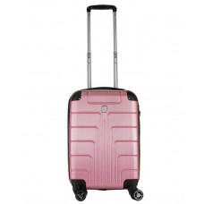 Чемодан Luyida (Комфорт), светло-розовый 55 см, S 🛄