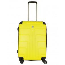 Чемодан Luyida (Комфорт), желтый 64 см, M