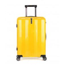 Чемодан Ananda (Премиум), желтый 55 см, S