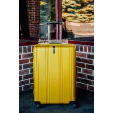 Чемодан Ananda (Премиум), желтый 74 см, L