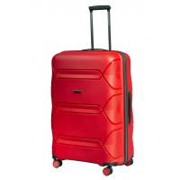 Чемодан L'case Miami (Премиум), красный 67 см, M