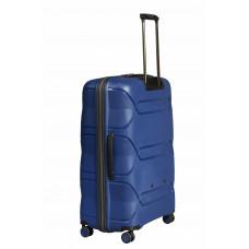 Чемодан L'case Miami (Премиум), синий 67 см, M