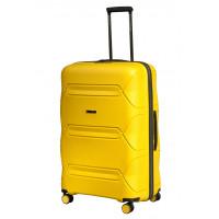 Чемодан L'case Miami (Премиум), желтый 67 см, M