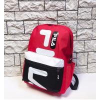 Рюкзак Fila D530, красно-черный
