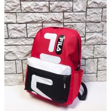 Рюкзак Fila D530, красно-черный 🛄