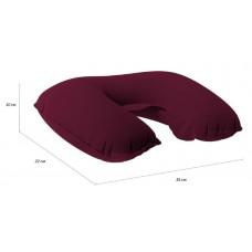 Подушка-подголовник надувная Verona Airspace, бордовая