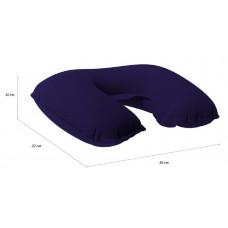 Подушка-подголовник надувная Verona Airspace, темно-синяя
